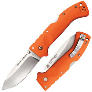"COLD STEEL Ultimate Hunter Orange S35VN STEEL 5"" Long 3D Machined 30URY"