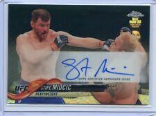 2018 Topps UFC Chrome STIPE MIOCIC Octofractor Case Hit Auto Autograph #FA-SM