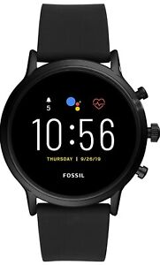 Gen 5(44mm, black) Carlyle Silicone Touchscreen Men's Smartwatch