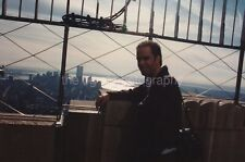 FOUND PHOTO Twin Towers WTC From The Empire State Building NEW YORK CITY 96 8 F
