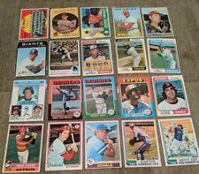 Vintage Baseball Card Lot#168 (20) 1959-83 Topps '59 Dodgers '67 Allen '76 Carew