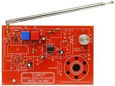 FM Radio Soldering Electronic Kit Auto Scan Elenco FM88K - Authorized USA Seller