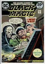 BLACK MAGIC #2, VF, Jack Kirby, Joe Simon, Cat, 1973, more JK in store