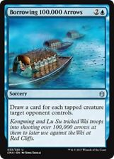 BORROWING 100,000 ARROWS Commander Anthology MTG Blue Sorcery Unc