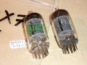 2 x GE 12AX7  (ECC83) / gut geprüft auf Funke W16