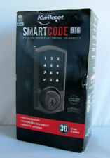 Kwikset SmartCode 916 Series Zigbee Touchscreen Deadbolt - Venetian Bronze