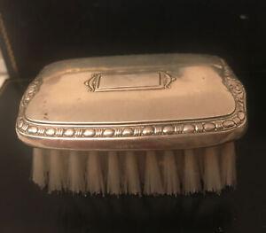 Crown Sterling Silver Baby/Child's Vanity Hair Brush No Monogram
