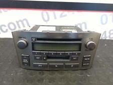 Toyota Avensis 2004 MK2 Radio Headunit Stereo 86120-05080