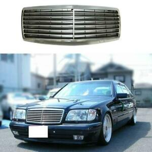 Mercedes benz W140 92-99 s600, s500, s420, s320, s280 front grill with frame