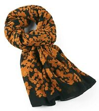 Kipling Womans Viscose Scarf - Floral Metallic