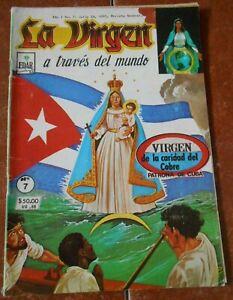 LA VIRGEN comic OUR LADY OF CHARITY virgin CATHOLIC EL COBRE VINTAGE 80s CUBAN