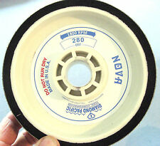 "rle 6"" NOVA GENUINE DIAMOND PACIFIC SANDING WHEEL, for GENIE, 280 GRIT"