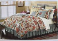 Martha Stewart Collect 4pc Comforter Set Twin Reversible Elizabetha Bedding New