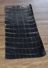 Leder Lederreste Rest Lederstück im schwarze farbe