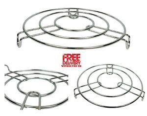 Round Chorme Steamer Rack For Pan / Pot - Steam Rack Trivet