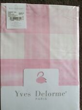 YVES DELORME KING SIZE DUVET SET IN PLEINAIR ROSE DESIGN