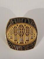 Vintage San Francisco 49ers Golden Emblem NFL Lapel Hat Pin