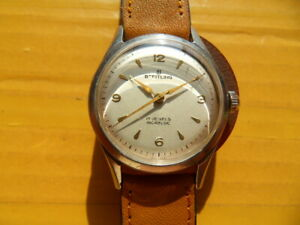 Vintage SWISS BREITLING 17 Jewels Manual Men's Watch,1954's