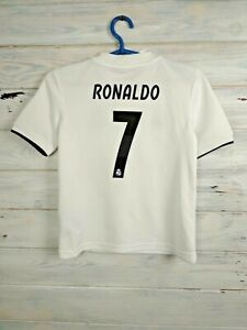 Ronaldo Real Madrid Jersey 2018/19 Home Size XS Shirt Camiseta Adidas CG0554