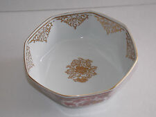 Vintage GOLD IMARI ARITA BUSSAN Octagonal Shaped Dish