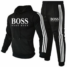Herren 2Pic Jogging Anzug Sweatshirt Hosen Trainingsanzug Sportanzug NEUE
