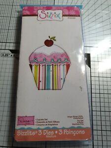 Sizzix Sizzlits Cupcake Set 656099 REDUCED