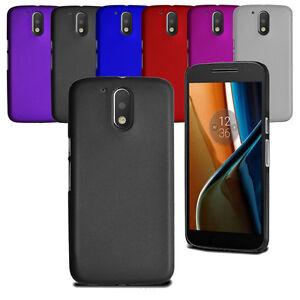 For Motorola Moto G4 Thin Slim Armour Hard Case Clip Hybrid Cover & Protector