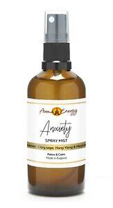 ANXIETY Essential Oil Room Spray Spritz Mist Fragrance Freshener