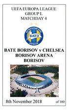 Menta bate Borisov V Chelsea Pirata programa 8 de noviembre de 2018