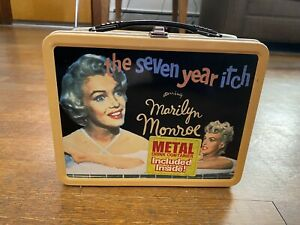 Marilyn Monroe The Seven Year Itch Lunchbox and thermos  NECA