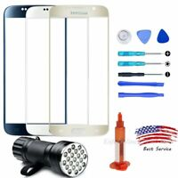 For Samsung Galaxy S6 Front Outer Touch Screen Glass Lens Replacement Tools Kit