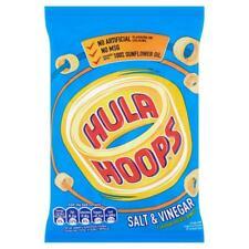 Hula Hoops Box of 32 x 34g Salt & Vinegar or Cheese & Onion