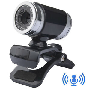 Webcam Video Camera With Microphone HD 640*480P USB For PC Desktop Laptop Mic
