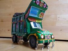 Modellauto / LKW aus Holz + Metall - Pakistan typischer Lastwagen, selten, top
