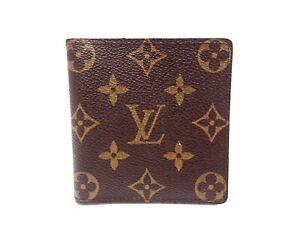 LOUIS VUITTON Monogram Wallet Bi-fold Billets 6 Credit M60929 Men's Vintage