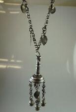 Islamische bzw. orientalische Amulett Kette Silber um 1900 (58890)