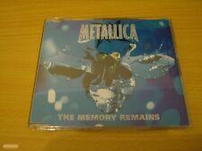 METALLICA THE MEMORY REMAINS UK CD SINGLE RARE