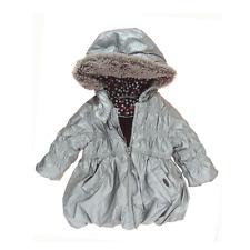 Marèse manteau  gris argent fille 6 mois.