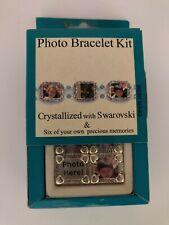 Crystal Innovations Photo Bracelet Kit Swarovski Crystals Six Photo Frames