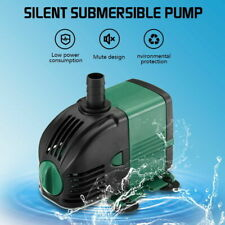 Submersible Water Pump for Outdoor Garden Fountain Aquarium Fish Tank Pond·