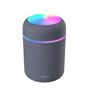 Portable USB Mini Humidifier Car Air Purifier Oil Aroma Diffuser Cool Mist 300ML