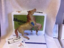 Breyer 712103 Diablo Vintage Club Red Roan Semi-rearing Mustang COA/box/mailbox
