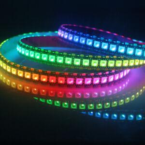 WS2811 WS2812 WS2813 WS2815 LED Pixel Flexible Strip Light Addressable DC 5V 12V