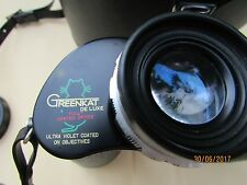 Binocolo Greenkat 10x50 Extra Wide Field 420ft a 1000yds Field 8°
