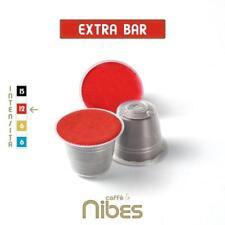 100 Capsule compatibili Nespresso Miscela Extra Bar Caffè Nibes