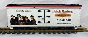 G Scale LGB 43745 Dutch Masters Cigar Car - New In Box - Made in USA