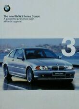 BMW E46 3 Series Coupe Sales Brochure - January 1999  323Ci  328Ci