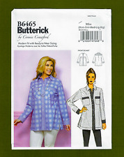 Butterick Sewing Pattern 6465 ~Misses Shirt / Top with Pockets (Sizes XS-XL)