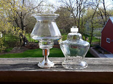2 Homco Home Interiors 1178-Bl Country Crimped Peg Votive Candle Holders Grommet