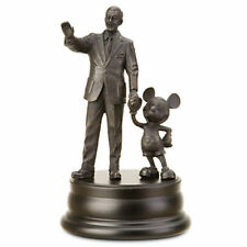 Disney Parks Walt Disney & Mickey Mouse Partners Bronze Figure Statue New in Box